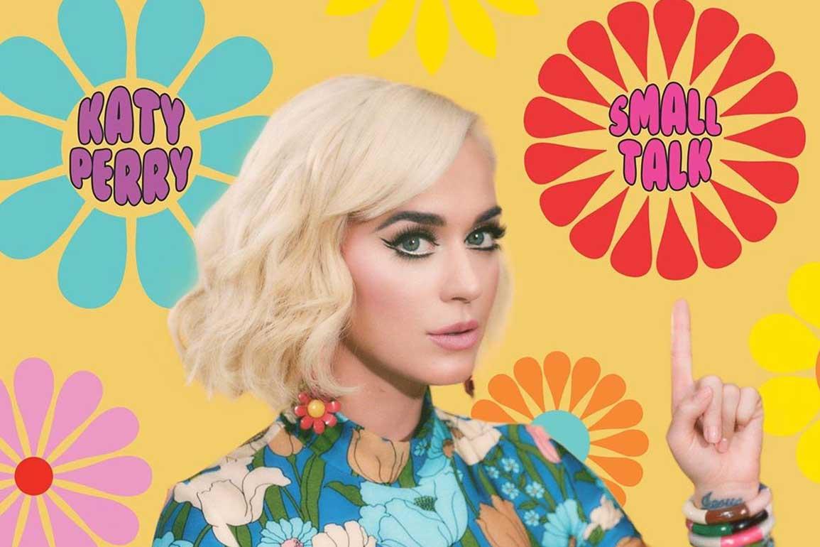 Katy Perry - Small Talk 中文歌詞翻譯